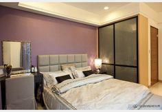 原美館--美式現代 生活美學_美式風設計個案—100裝潢網 Decor, Furniture, Bed, Home, Home Decor