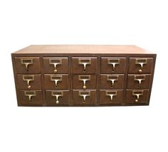 Vintage MidCentury Library Card Catalog by AuroraMills, $165.00