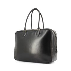 Hermes sac plume noir moyen
