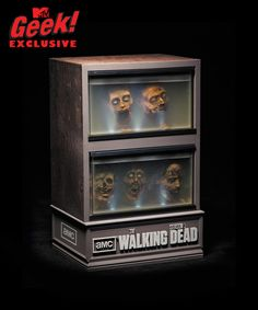 The Walking Dead Season 3 Special Edition GEEK Blue Ray pack - Courtesy MTV Geek http://geek-news.mtv.com