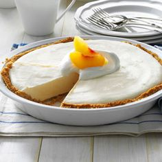 Frozen Peach Pies Recipe from Taste of Home -- shared by Athena Russell of Florence, South Carolina