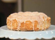Buddy Valastro's Orange Angel Food Cake with Orange-Cinnamon Glaze Recipe