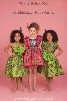 Shells Belles Kids est basée aux Etats-Unis; la marque s'est spécialisée sur le créneau de la mode pour enfants. Et elle le fait de fort belle manière en utilisant des imprimés africains mixés avec d'autres textiles: mousseline de soie, paillette,… Pour sa collection 2015, la marque a choisi de faire la part belle à un ...