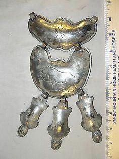 Fur Trade Silver William Sylvester Gorget Beaver Dangles Hudson's Bay Company | eBay