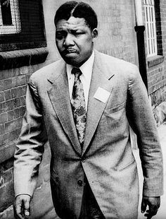 Mandela was born in 1918. In 1961, he had been arrested once for his work with the African National Congress.