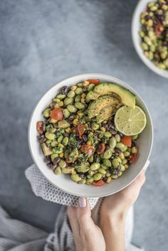 Easy Edamame Salad - Plant Based on a Budget
