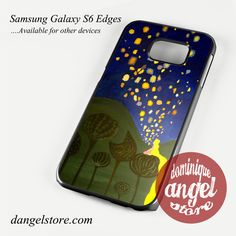 tangled floating light Phone Case for Samsung Galaxy S3/S4/S5/S6/S6 Edge