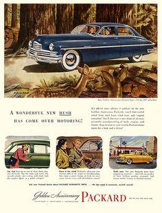 1949 Packard ad