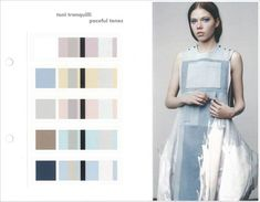 Chiron Colori S/S 2019 - This handy book provides you with an early prognosis of the colour trends for the fields of women's and men's wear, presented through 6 sophisticated and inspirational designe Design Palette, Denim Trends, Colour Board, Nordic Style, Colour Images, Colorful Fashion, Fashion Sketches, Dress Me Up, Color Trends