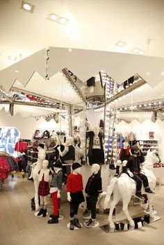 The H&M store in Times Square.