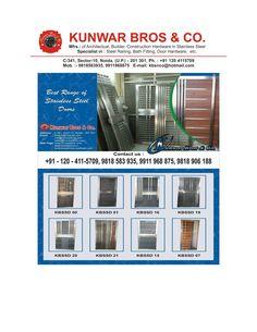 One of The best Stainless Steel Door manufacturer in India www.kunwarbros.com