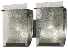 "Contemporary Varaluz Rain Collection 14 1/2"" Wide Bath Light - contemporary - Lamps Plus"