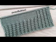 Önce 2ci ilmeği örelim 😎 İki Şişle Yeni Lastik Örgü Modeli - YouTube Knitting Videos, Knitting Charts, Baby Knitting Patterns, Knitting Designs, Filet Crochet, Crochet Stitches, Knit Crochet, Diwali Diy, Crochet Baby Booties