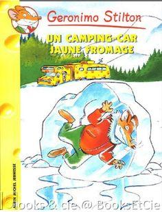 €2.85 - Geronimo Stilton, Tome 21 : Un Camping-car jaune fromage >>> Livre d'occasion en vente chez #BooksEtCie, France www.rebelmouse.com/booksetcie £2.85