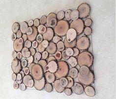 #cuadro #madera en lascas #decoración
