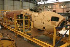 RAAF Museum:   Current Restoration Project. De Havilland Mosquito PR Mk XVI, A52-600