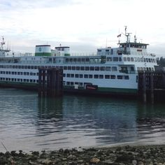 Anacortes Ferry Terminal : Traveled to Orcas Island on the ferry.  Vacation 2010.