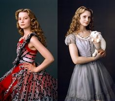 Alice in Wonderland (2010) Costume Design by Coleen Atwood