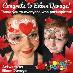 Make sure to follow us on Facebook to keep tabs on our contests! Eileen Davage won a whole set of Canada Day Face Painting Stencils :) Horror Makeup, Scary Makeup, Scary Halloween Costumes, Halloween Zombie, Halloween Makeup, Halloween Face, Canada Day Crafts, Zombie Makeup Tutorials, Canada Day Party