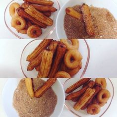 Minis churros eu Q fiz. #delicia D #receita  by lee_arts_all http://ift.tt/1TO27m3