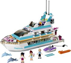 LEGO Friends Dolphin Cruiser 41015 - LEGOs for girls! #toys