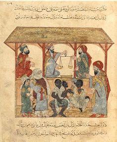 Après la mort du prophète Mahomet et la soumission de la péninsule arabe, les musulmans conquièrent les rives méridionales et orientales de la Méditerranée. Multipliant les prises de guerre, ils prolongent dans ces régions l'esclavage à la mode antique....