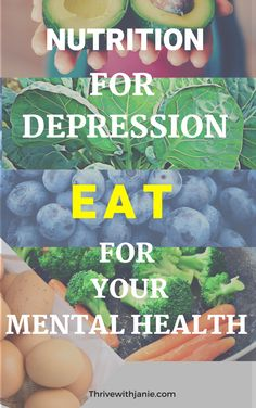 eat to manage depression and mental health