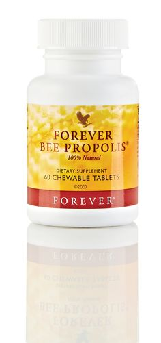 Forever Living Bee Propolis 100% Natural Dietary Suppliment 60 Chewable Tablets £27.29
