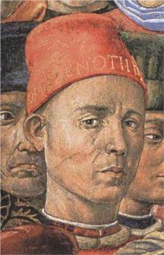 BENOZZO GOZZOLI   Born: c.1421; Sant'Ilario a Colombano, Italy    Died: 1497; Pistoia, Italy  #TuscanyAgriturismoGiratola