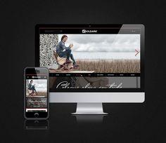 Gampi lança o novo site da Kildare. #Web #design