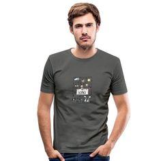 Sweat Shirt, Tee Shirt Homme, Shirt Men, T Shirt Vintage, Vintage T-shirts, Slim Fit Polo Shirts, Cut Shirts, T Shirt Designs, Country Boys