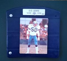 CUSTOM Texas Stadium Seat Bottoms D.D. Lewis  My dad used to tell me I was named after him because he was a huge Cowboys fan. Lol