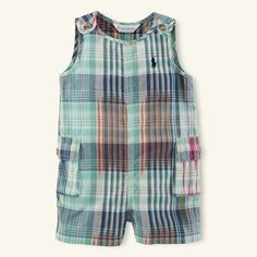 Ralph Lauren コットン マドラス カーゴ ショートオール / Cargo Overalls for Kids on ShopStyle: