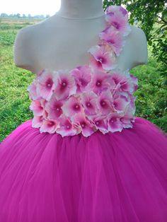 Fuchsia tutu dress wedding tutu dress fuchsia by Belletutus