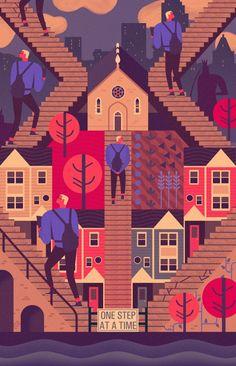 http://www.fubiz.net/2014/12/16/illustrations-by-owen-davey/