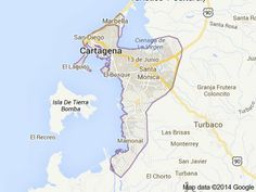 Cartagena Colombia Bay Area, http://yook3.com, Hurricane Free Floating Business Development Space.