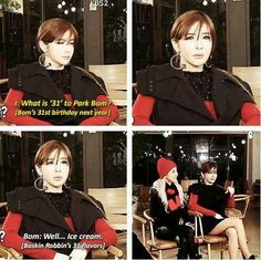 Oh. My. GOODNESS. I love her!! hahaha 2NE1 Park Bom #Bomismyspiritanimal
