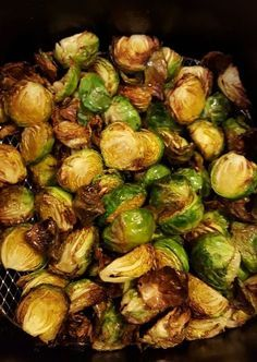 Healthy Fried Brussel Sprouts Recipe made in an Air Fryer!!! | Coupons For Your Family