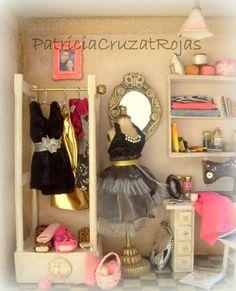 """Patricia Cruzat Artesania y Color: Cuarto Costura """"Fashion"""" para una Diseñadora de Vestuario..."""