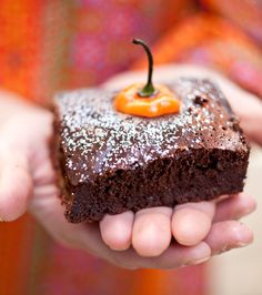 Hot Guinness Brownies