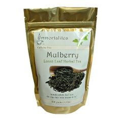 Loose Leaf White Mulberry Herbal Tea - 500 Grams by The Immortalitea Company. $69.00. Mulberry Leaf Tea has been recommended by practitioners of Traditional Chinese Medicine for centuries. Modern herbalist praise Mulberry tea for its benefits in processing sugars. Its also high in antioxidants.