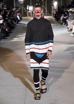 Collection Homme-Printemps été 2014 - Défilé Givenchy