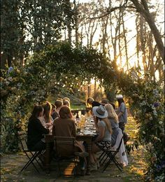 "The team at events said that at the end of their workshops they like to ""curate a fairy tale dinner for our attendees under the stars,"" and boy do they! See more on Once Wed today. Once Wed, Exterior, Toscana, Plein Air, Outdoor Dining, Life Is Good, Instagram, Backyard, In This Moment"