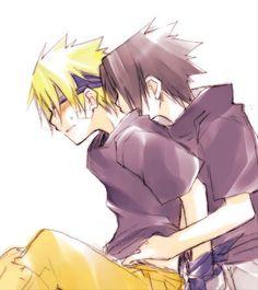 Naruto i Sasuke | blog hinaty