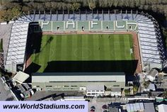 Home Park Stadium in Plymouth