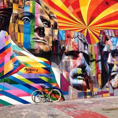 Flavors of Belize, South La Brea, Los Angeles, California by eduardo kobra