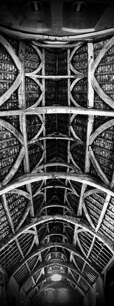 The Tithe Barn Glastonbury by ian beale