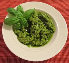 Pesto:used the modern method using a BLENDER smile emoticon not the mortar thing....ingredients: 1 clove of garlic ( Josephine Deguara you can omit) , a pinch of coarse salt, 100ml EVO oil, 50 g fresh basil, 30g grated pecorino, 15g pine nuts and 70g grated parmesan).................I used more basil, less parmesan and more pecorino and 20 g pine nuts