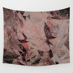 subconscious geometry Wall Tapestry