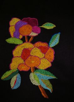 Free pattern embrodery.